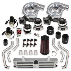 Turbochargers - Holley Twin Turbo Systems - Holley - Corvette C6 2009-2013 LS3 Holley STS Twin Turbo System With Tuner & Fuel Injectors