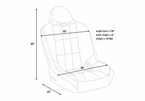 Corbeau - Corbeau Baja SS Racing Seat - Image 6