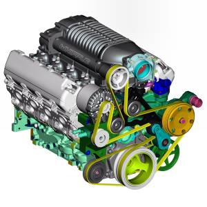 Whipple Superchargers - Whipple GM/GMC/Chevy 2019 5.3L SUVs Supercharger Intercooled Kit W175FF 2.9L - Image 6