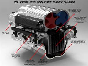 Whipple Superchargers - Whipple GM 2019-2020 5.3L SUVs Supercharger Intercooled Complete Kit W175FF 2.9L - Image 3