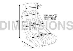 Corbeau - Corbeau Classic Bucket Seat - Image 3