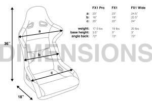 Corbeau - Corbeau FX1 Racing Seat - Image 5