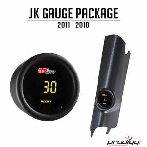Turbochargers - Prodigy Performance - Prodigy Performance - Jeep Wrangler 2012-2018 JK 3.6L Single Gauge Pod Package Prodigy Performance