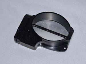 Air Induction - Whipple Throttle Bodies - Whipple Superchargers - Whipple Ford Coyote 2011-2014 Billet 150MM Elliptical Electronic Throttle Body (2400CFM)