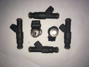 Fuel System - TRE Bosch Thin Body Style Fuel Injectors - TREperformance - TRE 90lb Bosch/Siemens Deka IV EV1 Thin Style Fuel Injectors - 6
