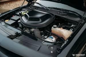 Vortech Superchargers - Dodge Hemi 2015-2019 - Vortech Superchargers - Dodge Challenger 6.4L 2015-2019 Vortech Intercooled TUNER KIT - Satin Finish