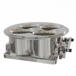 Accufab Throttle Bodies - Accufab - 4-Barrel Throttle Bodies - Accufab Racing - Accufab 4-Barrel 5500 Polished Competition Throttle Body