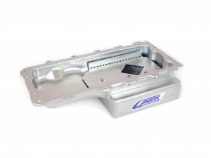 Canton Street/Strip/Road Race Oil Pans - Ford Street/Strip/Road Race Oil Pans - Canton Racing Products - Ford Mustang Mod Motor 4.6/5.4 Canton 7 Quart Rear Sump Oil Pan Kit Car