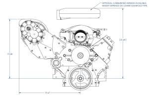 Chevrolet GM LS-Swap Carbureted Vortech Supercharger LS
