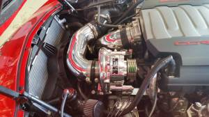 A&A Corvette - A&A Corvette Supercharger Tuner Kit 2014-2018 C7 Vortech V3-Si Ram Air Intercooled