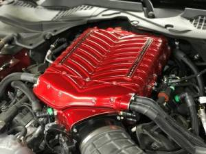 Whipple Superchargers - Whipple Gen 5 3.0L Ford Mustang 2015-2017 Supercharger Stage 2 Intercooled Kit GT 5.0L W185RF - Image 11