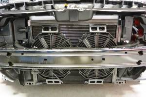 Dual Fan Heat Exchanger Upgrade