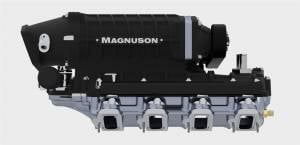 Magnuson Superchargers - Chevrolet Camaro / Corvette / Sedan Magnusons - Magnuson Superchargers - GM / Chevrolet LS3 / LSA 6.2L V8 Magnuson TVS2650R Supercharger Intercooled Hot Rod Kit