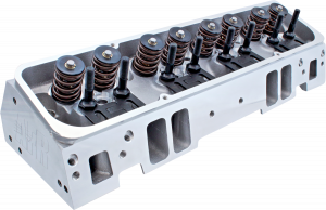Air Flow Research Cylinder Heads - AFR - Small Block Chevy - Air Flow Research - AFR Chevy 195cc Enforcer As-Cast SBC Cylinder Head, 64cc Chambers, Angle Plug, Assembled