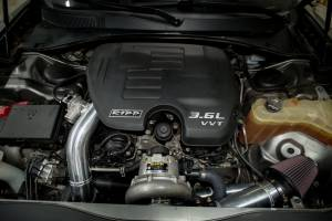 Ripp Superchargers - Dodge Charger 3.6L 2015-2016 Intercooled V3 Si RIPP Supercharger Kit CARB Legal Heritage Edition- Silver