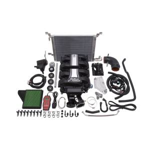 Edelbrock Superchargers - Mustang Edelbrock Superchargers - Edelbrock - Ford Mustang 5.0L 2011-2014 Edelbrock Stage 1 Complete Supercharger Intercooled Kit Without Tune