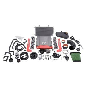 Edelbrock Superchargers - Corvette Edelbrock Superchargers - Edelbrock - Chevy Corvette Stingray Z51 Grand Sport Dry Sump 2014-2019 Edelbrock Stage 1 Complete Supercharger Intercooled Kit With Tune