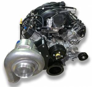 ATI / Procharger Superchargers - Ford 7.3L Procharger Transplant Kits - ATI/Procharger - Ford 7.3L Godzilla Procharger 8 Rib Transplant Stage II Intercooled Supercharger Tuner Kit with P-1SC-1