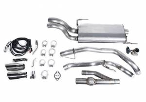 Roush Superchargers - Ford F-150 2015-2020 Roush Active Cat-Back Exhaust Kit