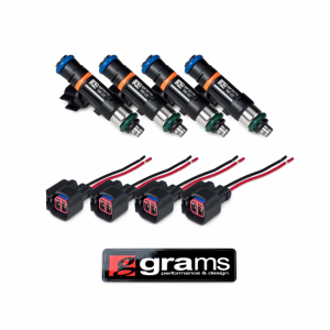 Fuel System - Grams Performance Injectors - Dodge Chrysler SRT4 550cc Grams Performance Fuel Injectors