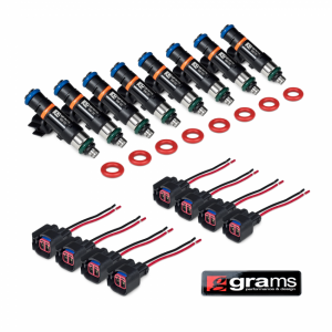 Fuel System - Grams Performance Injectors - Grams Performance Injectors - Chevy GM Truck LS2 550cc Grams Performance Fuel Injectors