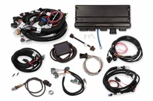 Holley EFI Injection Kits - Holley Terminator X EFI Powertrain Management System - Holley - Holley Terminator X Max MPFI Controller Kit For LS1 LS6 Engines with DBW Throttle Body & Transmission Control
