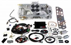Holley EFI Injection Kits - Holley HP EFI Fuel Injection Systems - Holley - Holley HP EFI Multi Port BBC 4BBL Fuel Injection System - 2000 CFM Tall Deck Rectangular Ports