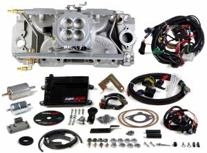Holley EFI Injection Kits - Holley HP EFI Fuel Injection Systems - Holley - Holley HP EFI Multi Port BBC 4BBL Fuel Injection System - 1000 CFM Standard Deck Peanut Oval Ports
