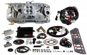 Holley EFI Injection Kits - Holley HP EFI Fuel Injection Systems - Holley - Holley HP EFI Multi Port BBC 4BBL Fuel Injection System - 1000 CFM Standard Deck Rectangular Ports