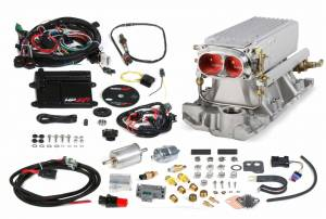 Holley EFI Injection Kits - Holley HP EFI Fuel Injection Systems - Holley - Holley HP EFI Stealth RAM SBC Fuel Injection System - Early to Late Heads