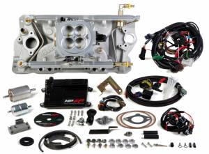 Holley EFI Injection Kits - Holley HP EFI Fuel Injection Systems - Holley - Holley HP EFI Multi Port SBC 4BBL Fuel Injection System - Early to Late Heads