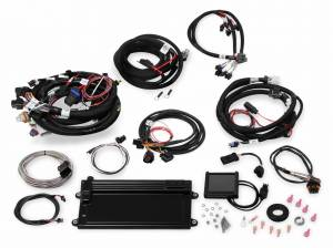 Holley EFI Injection Kits - Holley Terminator EFI Fuel Injection Systems - Holley - Holley Terminator LS MPFI System for GM Truck & LS2 LS3 Engines with DBW Throttle Body & Transmission Control