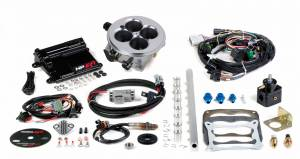 Holley EFI Injection Kits - Holley HP EFI Fuel Injection Systems - Holley - Holley HP EFI Multi Port Universal Retrofit Fuel Injection System - 4500 Carburetor Style Intake Manifolds