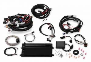 Holley EFI Injection Kits - Holley Terminator EFI Fuel Injection Systems - Holley - Holley Terminator LS MPFI System with Transmission Control for GM Truck 24x