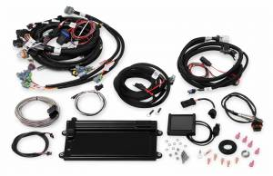 Holley EFI Injection Kits - Holley Terminator EFI Fuel Injection Systems - Holley - Holley Terminator LS MPFI System with Transmission Control for LS2 LS3 & GM Truck 58x