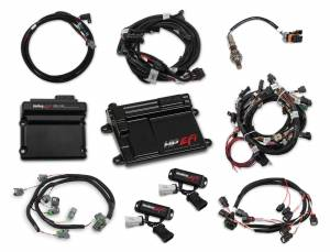 Holley EFI Injection Kits - Holley HP EFI Fuel Injection Systems - Holley - Holley HP EFI Fuel Injection System & Ti-VCT Controller Kit - Ford Coyote Engines 2011-2017 NTK O2 Sensor