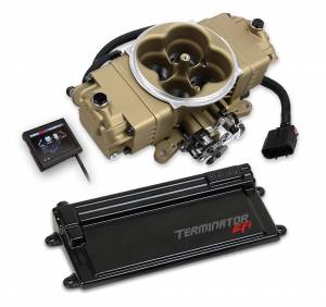 Holley EFI Injection Kits - Holley Terminator EFI Fuel Injection Systems - Holley - Holley Terminator Stealth EFI System with Transmission Control - Gold