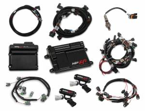 Holley EFI Injection Kits - Holley HP EFI Fuel Injection Systems - Holley - Holley HP EFI Fuel Injection System & Ti-VCT Controller Kit - Ford Coyote Engines 2013-2015.5 NTK O2 Sensor