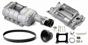 Weiand Superchargers - Chevy Small Block 1969-1986 Weiand - Satin 177 Street Supercharger Kit