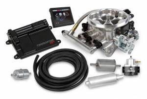 Holley EFI Injection Kits - Holley Terminator EFI Fuel Injection Systems - Holley - Holley Terminator EFI 4BBL Throttle Body Fuel Injection Master Kit - Polished