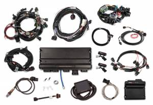 Holley EFI Injection Kits - Holley Terminator X EFI Powertrain Management System - Holley - Holley Terminator X Max MPFI Kit For 2011-2012 Ford Coyote Engines with Ti-VCT, EV6, 98+ 4R70W Transmission, and DBW