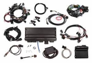Holley EFI Injection Kits - Holley Terminator X EFI Powertrain Management System - Holley - Holley Terminator X Max MPFI Kit For 2011-2012 Ford Coyote Engines with Ti-VCT, EV1, and DBW