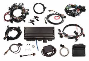 Holley EFI Injection Kits - Holley Terminator X EFI Powertrain Management System - Holley - Holley Terminator X Max MPFI Kit For 2013-2015 Ford Coyote Engines with Ti-VCT, EV1, and 98+ 4R70W Transmission