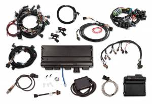 Holley EFI Injection Kits - Holley Terminator X EFI Powertrain Management System - Holley - Holley Terminator X Max MPFI Kit For 2015.5-2017 Ford Coyote Engines with Ti-VCT, EV1, and DBW