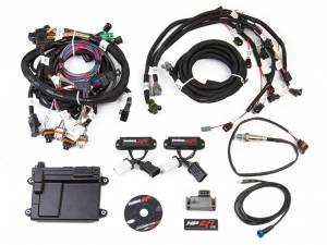 Holley EFI Injection Kits - Holley HP EFI Fuel Injection Systems - Holley - Holley HP EFI 99-04 2-Valve Ford Modular Engine Fuel Injection System Complete Kit - NTK O2 Sensor