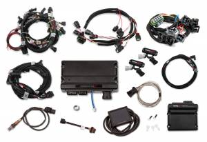 Holley EFI Injection Kits - Holley Terminator X EFI Powertrain Management System - Holley - Holley Terminator X Max MPFI Kit For 2011-2012 Ford Coyote Engines with Ti-VCT, and EV1