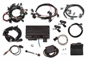 Holley EFI Injection Kits - Holley Terminator X EFI Powertrain Management System - Holley - Holley Terminator X Max MPFI Kit For 2011-2012 Ford Coyote Engines with Ti-VCT, and EV6