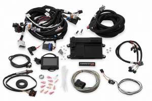 Holley EFI Injection Kits - Holley Terminator EFI Fuel Injection Systems - Holley - Holley Terminator LS MPFI System for GM Truck 24x Crank Reluctor