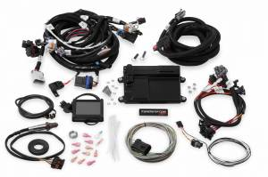 Holley EFI Injection Kits - Holley Terminator EFI Fuel Injection Systems - Holley - Holley Terminator LS MPFI System for LS1 LS6 24x Crank Reluctor