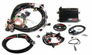 Holley EFI Injection Kits - Holley HP EFI Fuel Injection Systems - Holley - Holley HP EFI ECU and Harness Kit for LS1 LS6 24x with EV1 Connectors - NTK O2 Sensor